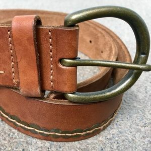 Abercrombie & Fitch Brown Leather Belt